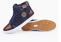 Чоловічі зимові черевики-кеди Converse. Модель 04103., фото 5