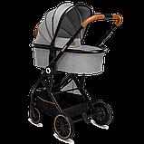 Универсальная коляска 3 в 1 Lionelo RIYA GREY STONE, фото 3