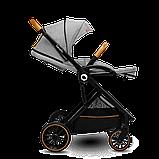 Универсальная коляска 2 в 1 Lionelo RIYA GREY STONE, фото 5