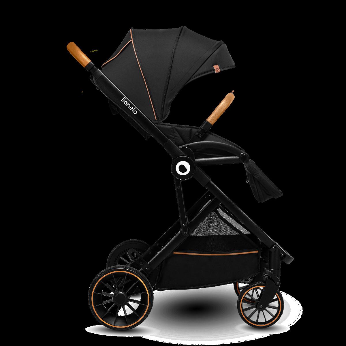 Універсальна коляска 2 в 1 Lionelo RIYA BLACK ONYX
