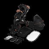Универсальная коляска 2 в 1 Lionelo RIYA BLACK ONYX, фото 4