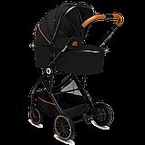 Универсальная коляска 2 в 1 Lionelo RIYA BLACK ONYX, фото 6