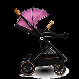 Универсальная коляска 2 в 1 Lionelo RIYA PINK VIOLET, фото 4