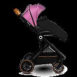 Прогулянкова коляска Lionelo RIYA PINK VIOLET, фото 2