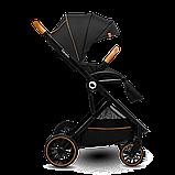 Прогулянкова коляска Lionelo RIYA BLACK ONYX, фото 3
