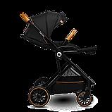 Прогулочная коляска Lionelo RIYA BLACK ONYX, фото 4