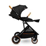 Прогулянкова коляска Lionelo RIYA BLACK ONYX, фото 4