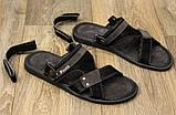 Сандалі чоловічі босоніжки (Пл-04ч), фото 4