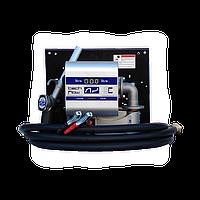 Мобильная перекачивающая станция для дизельного топлива с расходомером WALL TECH 40, 12В, 40 л/мин