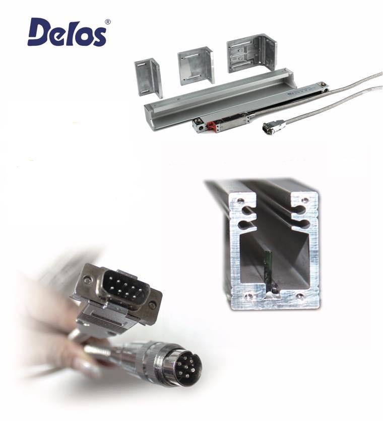 Оптичний лінійний енкодер DLS-W1R Delos (вимірювана довжина від 50 до 1200 мм) 1 мкм 5В EIA422