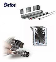 Оптичний лінійний енкодер DLS-W1R Delos (вимірювана довжина від 50 до 1200 мм) 1 мкм 5В EIA422, фото 1