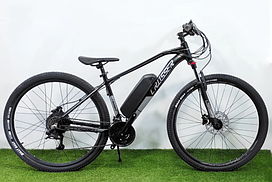 Електровелосипед E-Jazzz Hydraulic 29 li ion 13A 36V 500W original Чорно-зелений