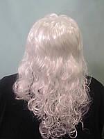 Корновальный парик белый
