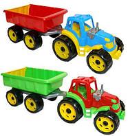 Трактор игрушка с прицепом ТехноК 3442