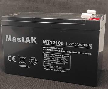 Аккумулятор MastAK MT12100 ( 12v 10Ah )