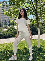 Жіночий костюм з бавовни Poliit 7315