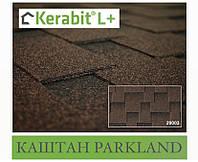 Битумная черепица KERABIT L+ Спелый каштан Parkland Brown (коричнево-черный)