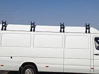 """Багажник модельный на крышу Mers Sprinter, VW LT в сборе(1,75м) """"Кенгуру"""" 1 планка (высота от водостока 34см)"""