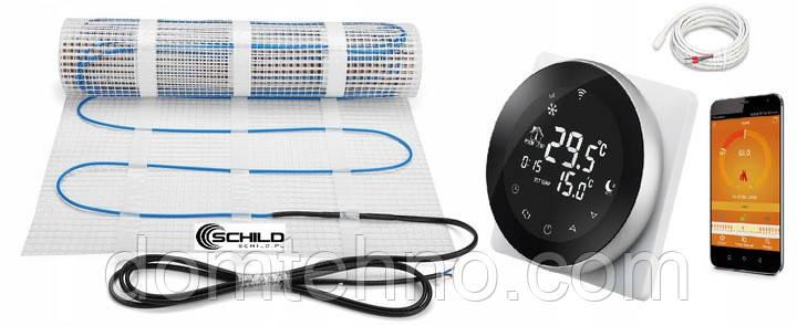 Комплект нагревательного коврика WiFi 10м2 200Вт / м2