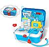 Портативный детский рюкзак Doctor toy. Набор медицинских инструментов из 17 предметов