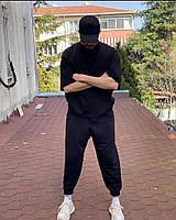 Чоловічий спортивний костюм з коротким рукавом з двунити в кольорах, фото 2