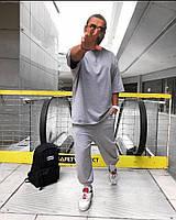 Чоловічий спортивний костюм з коротким рукавом з двунити в кольорах, фото 4