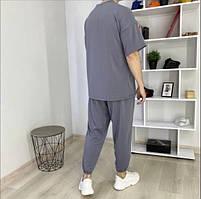 Чоловічий спортивний костюм з коротким рукавом з двунити в кольорах, фото 6