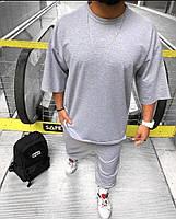 Чоловічий спортивний костюм з коротким рукавом з двунити в кольорах, фото 8