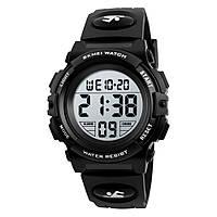SKMEI 1266 черные детские спортивные часы, фото 1