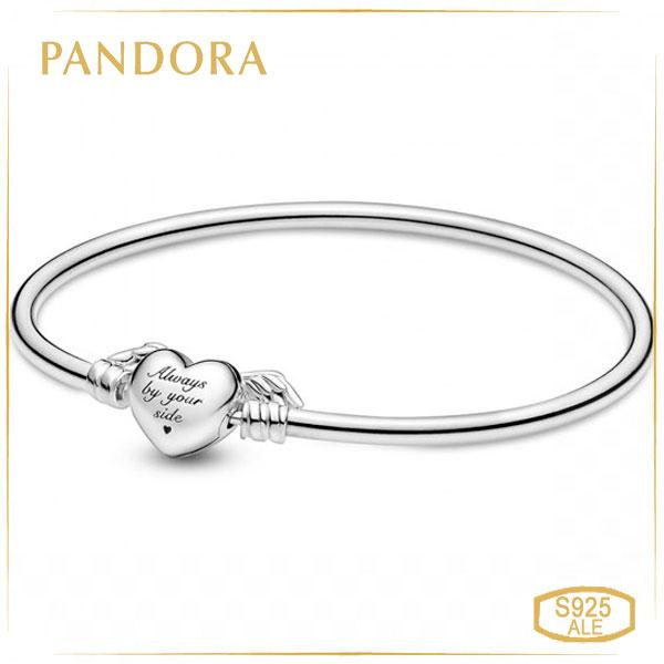 """Пандора Браслет-бэнгл Moments """"Крила любові"""" (17 см) Pandora 599379C00"""