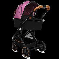 Универсальная коляска 2 в 1 Lionelo RIYA PINK VIOLET