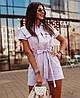 Женский стильный комбинезон на молнии с шортами