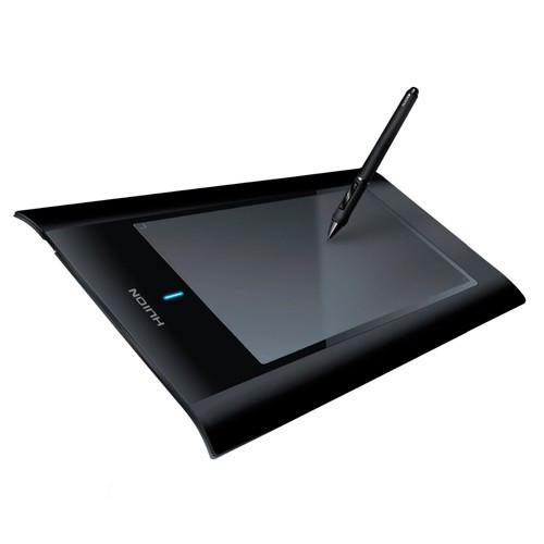 """Графічний планшет бездротовий з пером HUION W58, 8x5"""", 105544"""