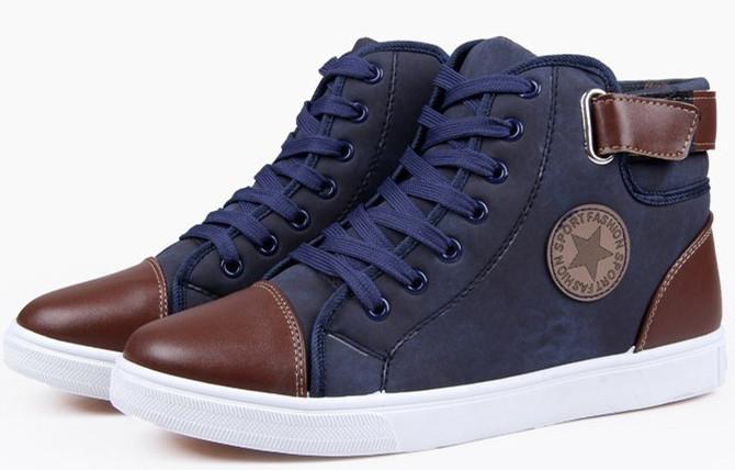Чоловічі зимові черевики-кеди Converse. Модель 04103.