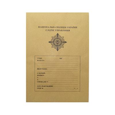 Крафт-конверт з шаблоном, 229 х 324 мм без розширення