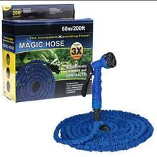Поливочный шланг Xhose (Икс-Хоз) увеличивающийся в 3 раза 60 м +распылитель
