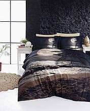Комплект постельного белья сатин 3d First Choice евро  Moon