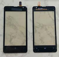 Microsoft (Nokia) Lumia 430 сенсорний екран, тачскрін чорний