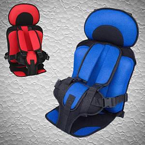 Детское автомобильное кресло, бескаркасное с подголовником от 1 года, 9-36 кг. Автокресло для детей в машину