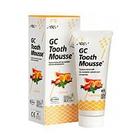 Тус Мусс Tutti-Frutti (TOOTH MOUSSE) гель для реминерализации и укрепления зубов GC, 1 тюбик 35 мл