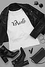 "Футболки с принтом на девичник ""Bride / Bride tribe"", фото 3"