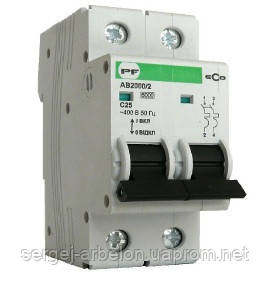 Выключатель автоматический ECO AB2000 2p 2А