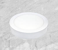 Светодиодный LED точечный накладной светильник 18W (круг)