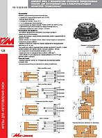 Комплект фрез Профессионал-2 для изготовления окон с поворотно-откидной фурнитурой с мех.креплением пластин HM