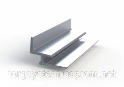 Полкодержатель на экономпанели L=100мм для полки толщиной 18мм