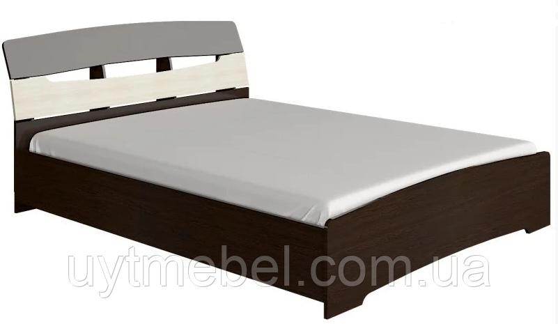 Ліжко Марго 1600х2000 венге м./дуб молочний (Сучасні меблі)