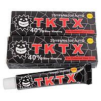 Обезболивающий крем-анестетик TKTX 40%, black tube, 10ml