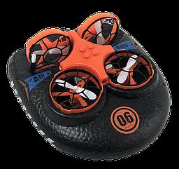Катер-дрон-машинка Trix K2, 3 в 1, режимы наземный, плавания, полета (Красный)