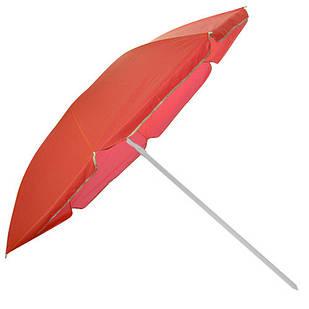 Зонт пляжный d1.8м Stenson MH-2685, красный