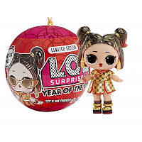 Набір LOL Surprise Year of The Ox Doll - Золота Бі-бі, фото 1